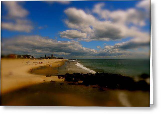 Ocean Grove Greeting Cards - Out Of Focus Greeting Card by Joe  Burns