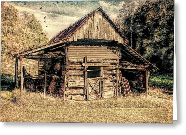 Out To Pasture 1 Greeting Card by Bellesouth Studio
