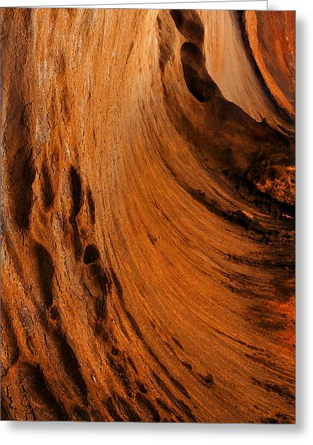 Cavern Greeting Cards - Outback cavern Greeting Card by Mike  Dawson