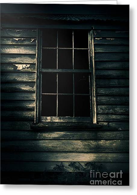 Outback House Of Horrors Greeting Card by Jorgo Photography - Wall Art Gallery