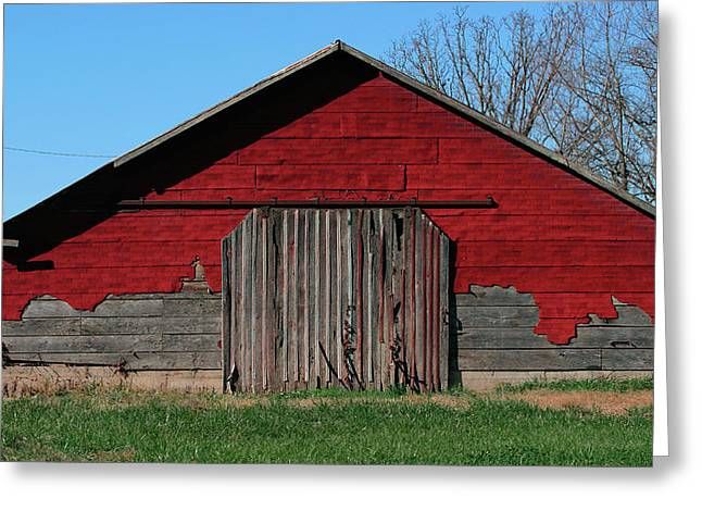 """""""sliding Doors"""" Greeting Cards - Outbuilding Greeting Card by Grant Groberg"""