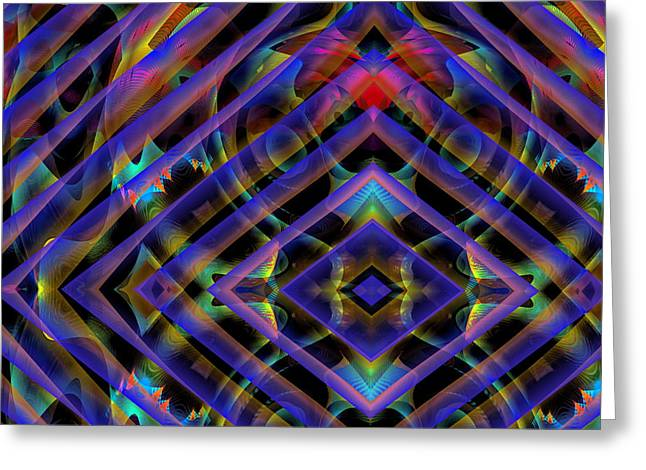 Outer Limits Greeting Cards - Outer Limits Greeting Card by Visual Artist  Frank Bonilla