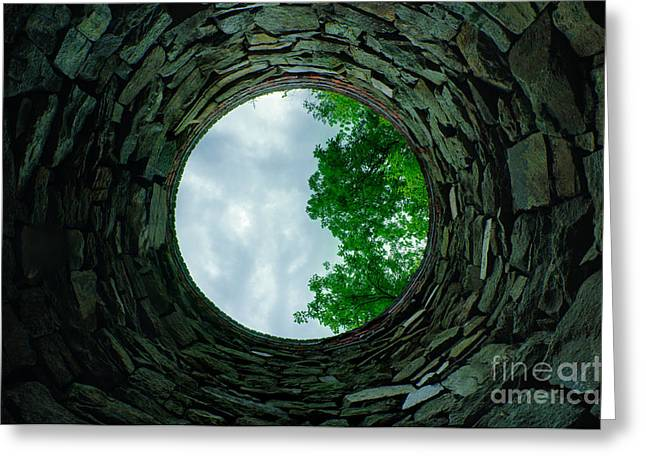Roxbury Greeting Cards - Ovens Long-Silenced - Ruins at Old Iron Furnace Site Greeting Card by JG Coleman