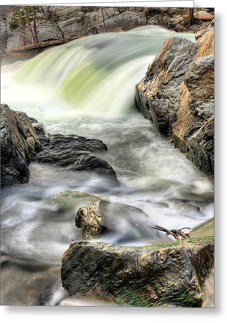Overflowing  Greeting Card by JC Findley