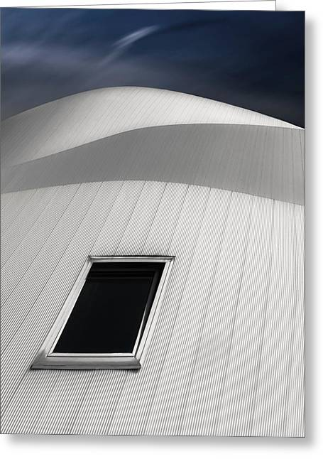White Photographs Greeting Cards - Overture Greeting Card by Gilbert Claes