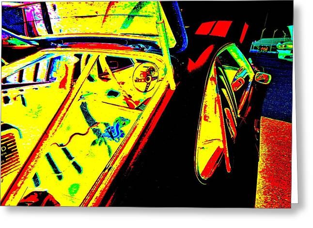 Mach I Greeting Card featuring the photograph Oxford Car Show 52 by George Ramos