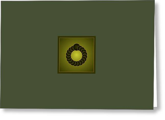 Coins Greeting Cards - Oxolux 0344b Greeting Card by Ssmidd