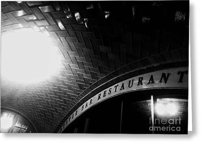 Oyster Bar At Grand Central Greeting Card by James Aiken