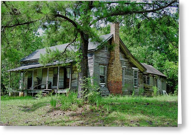 Ozark Alabama Greeting Cards - Ozark Alabama Homestead Greeting Card by Frank Feliciano