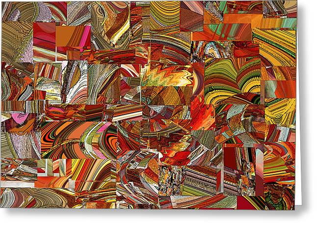 Abstract Movement Greeting Cards - P K 2 Greeting Card by Phillip Mossbarger