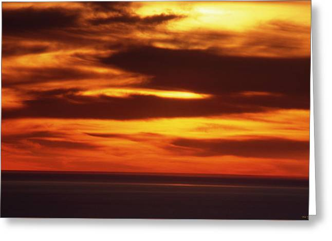 Pacific Backdrop  Greeting Card by Soli Deo Gloria Wilderness And Wildlife Photography