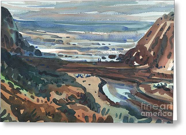 Pch Greeting Cards - Pacific Beach Day Greeting Card by Donald Maier