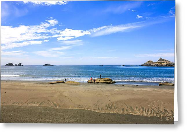 Outlook Greeting Cards - Pacific California Greeting Card by Chris Smith