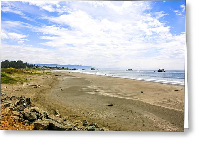 Outlook Greeting Cards - Pacific Coast California Greeting Card by Chris Smith