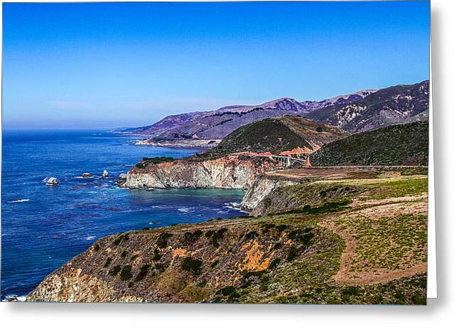 Big Sur Greeting Cards - Pacific Coast Greeting Card by Frank Molina