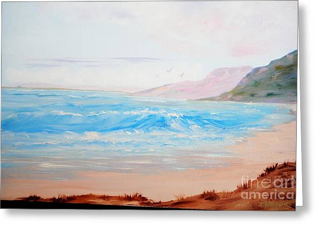 James Higgins Greeting Cards - Pacific Coast Greeting Card by James Higgins
