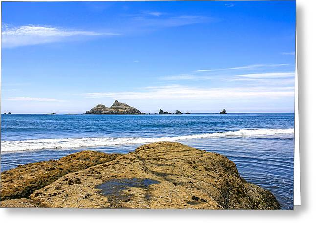 Outlook Greeting Cards - Pacific North West Coast Greeting Card by Chris Smith