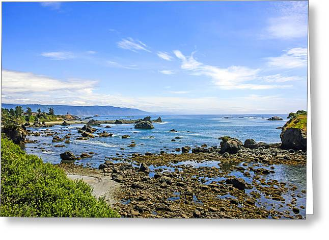 Outlook Greeting Cards - Pacific Northwest Greeting Card by Chris Smith