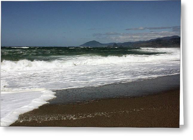 Pacific Ocean Prints Greeting Cards - Pacific Ocean   Greeting Card by Kami McKeon