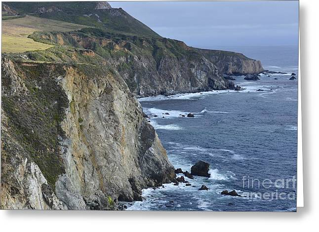 Coast Highway One Greeting Cards - Pacific Ocean Greeting Card by Shawn Dechant