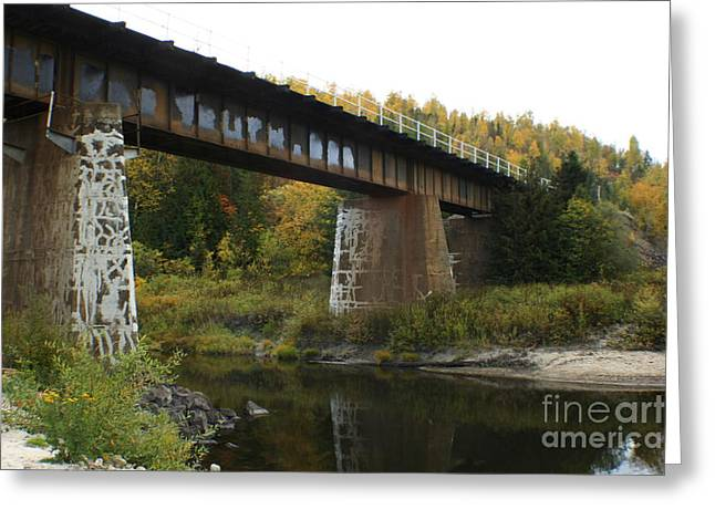 Sandpoint Greeting Cards - Pack River Bridge Greeting Card by Idaho Scenic Images Linda Lantzy