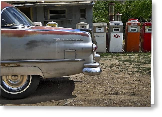 Packard Greeting Card by Skip Hunt