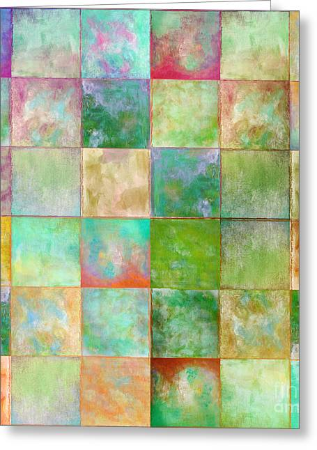 Colorful Paints Greeting Cards - Paintbox Greeting Card by Mindy Sommers