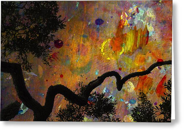 Painted Skies Greeting Card by Jan Amiss Photography