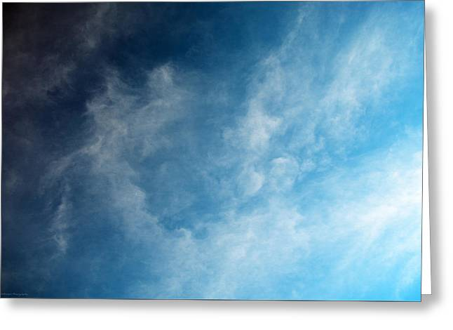 Himmel Greeting Cards - Paintings in the sky Greeting Card by Philippe Meisburger