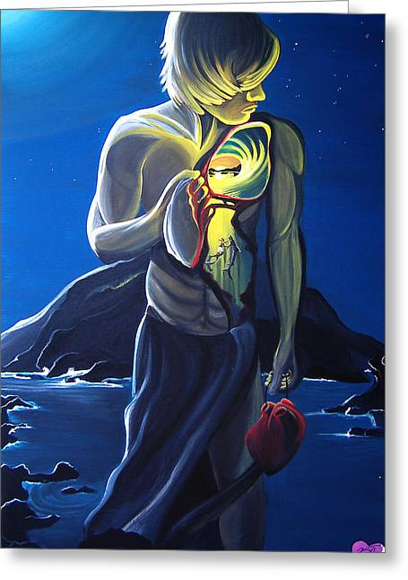 Recently Sold -  - Surfing Art Greeting Cards - Pakamakani Greeting Card by Danielle Zirkelbach