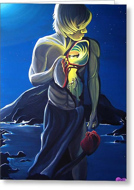 My Ocean Paintings Greeting Cards - Pakamakani Greeting Card by Danielle Zirkelbach