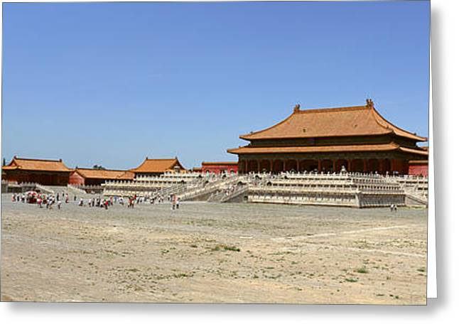 Tai Greeting Cards - Palace Area Of The Forbidden City Greeting Card by Panoramic Images