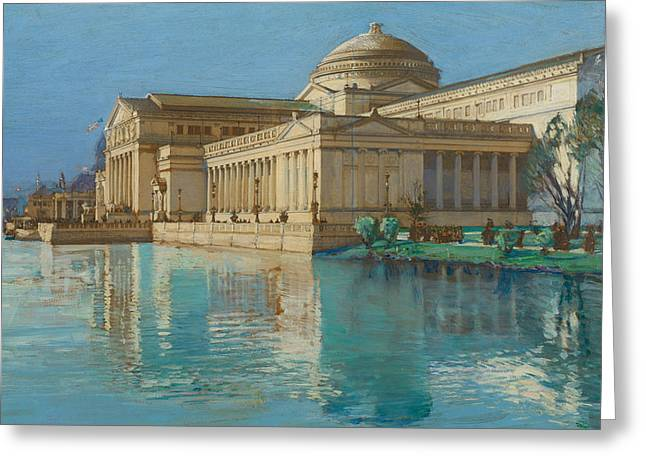 Childe Greeting Cards - Palace of Fine Arts Greeting Card by Childe Hassam