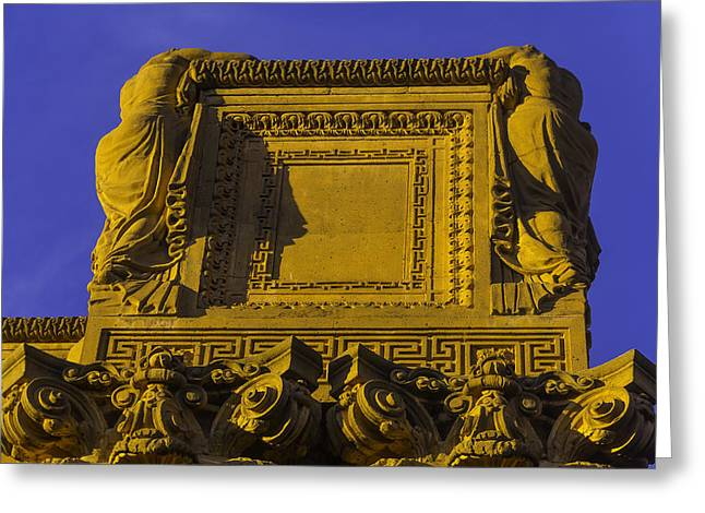 Palace Of Fine Arts Greeting Card by Garry Gay