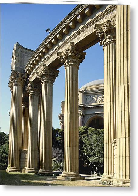 Californian Greeting Cards - Palace of Fine Arts in San Francisco Greeting Card by Adam Sylvester