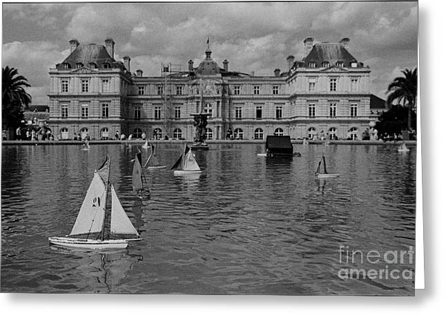 Galeria Greeting Cards - Palais de Luxembourg Greeting Card by Aldo Cervato