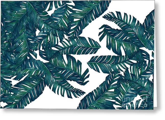 Palm Tree 7 Greeting Card by Mark Ashkenazi
