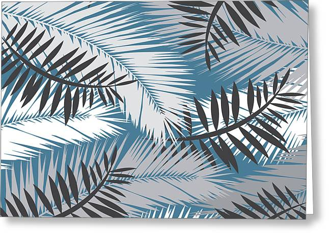 Palm Trees 10 Greeting Card by Mark Ashkenazi
