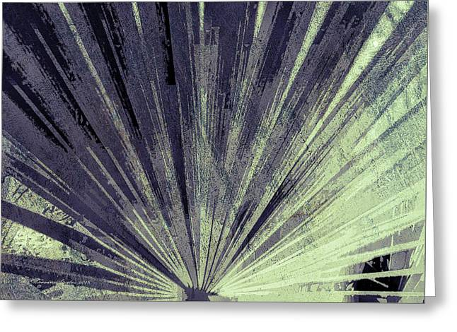 Palmetto Abstract No. 5 Greeting Card by Marvin Spates