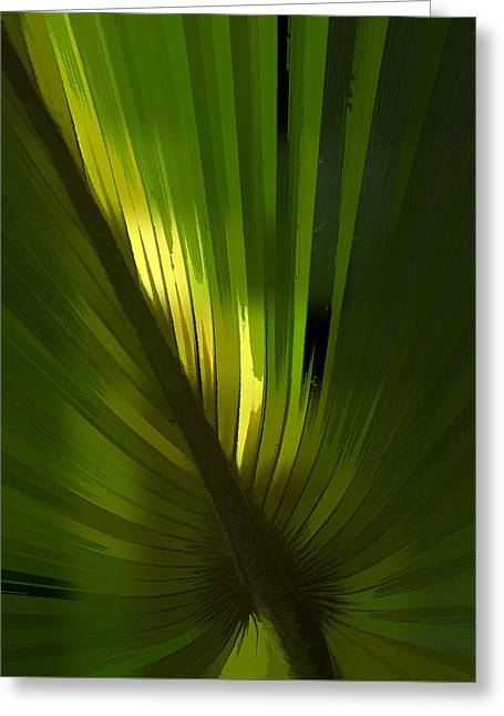 Palmetto Embrace Greeting Card by Marvin Spates