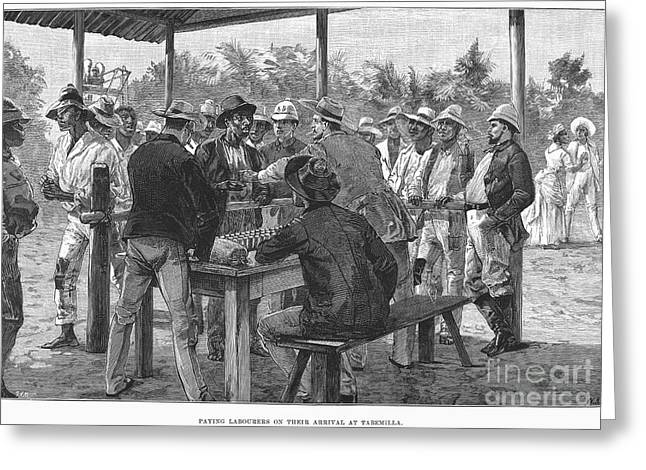 Employer Greeting Cards - Panama Canal, 1888 Greeting Card by Granger