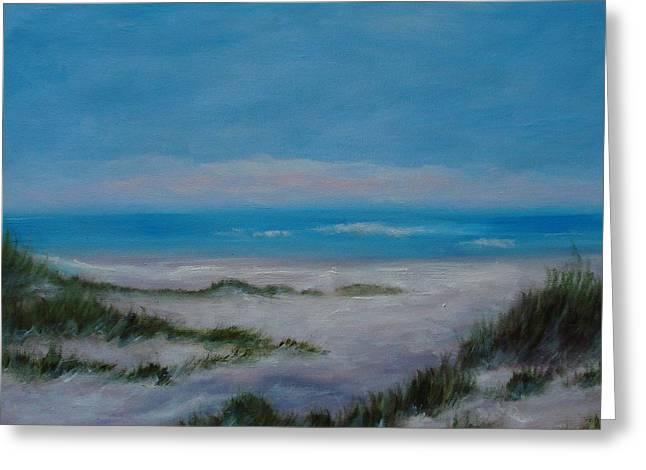 Panama City Beach IIi Colors Of The  Gulf Coast Greeting Card by Phyllis OShields