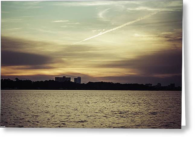 Unset Greeting Cards - Panama City Sunset 2  Greeting Card by Debra Forand