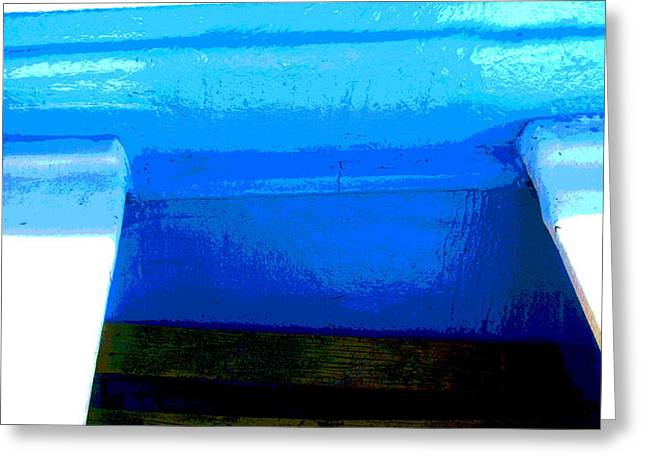 Pangas in the Sea 2 by Michael Fitzpatrick Greeting Card by Olden Mexico