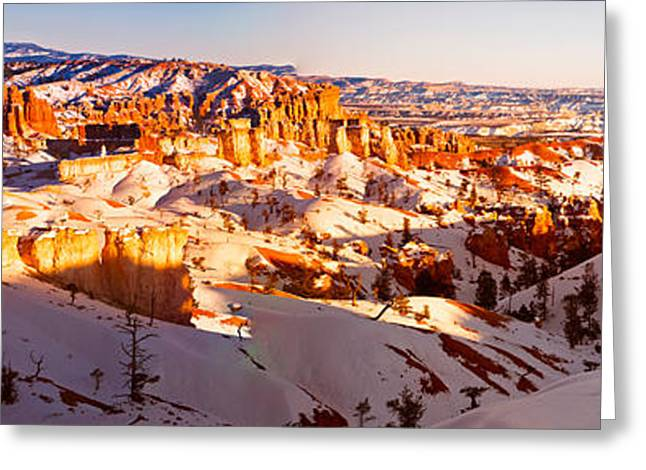 Southern Utah Greeting Cards - Panorama of a Hoodoo Nation II Greeting Card by Irene Abdou