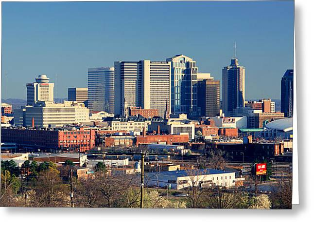 Tennessee River Greeting Cards - Panoramic View Of Nashville, Tennessee Greeting Card by Panoramic Images