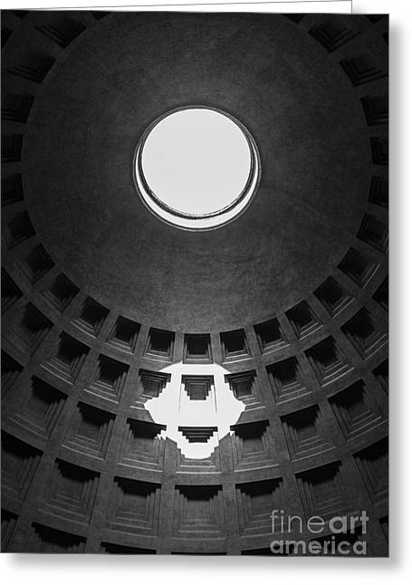 Pantheon Greeting Cards - Pantheon Rome Italy Greeting Card by Edward Fielding