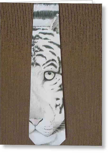 Panthera Tigris Greeting Card by David Kelly