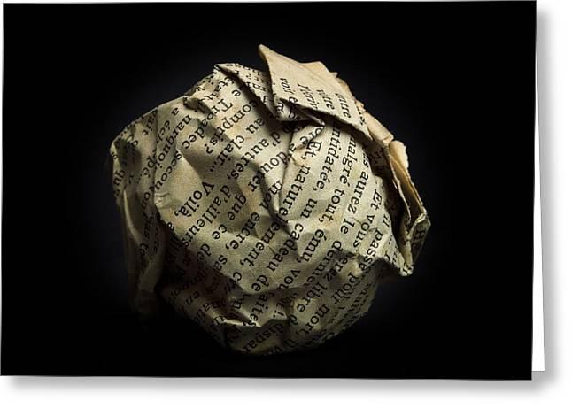 Paper Greeting Card by BERNARD JAUBERT