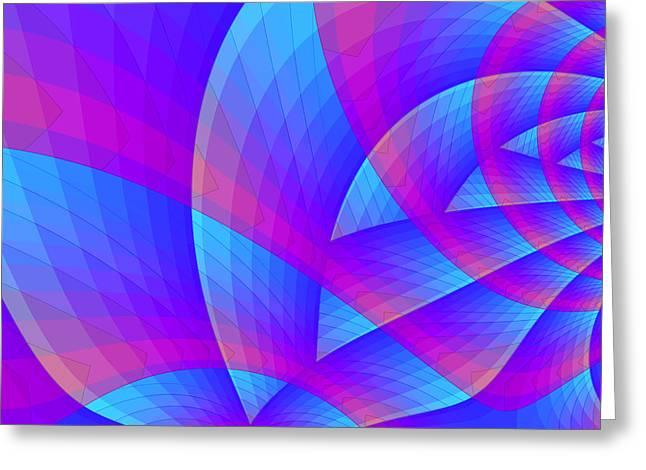 Parabolic Greeting Card by Jutta Maria Pusl